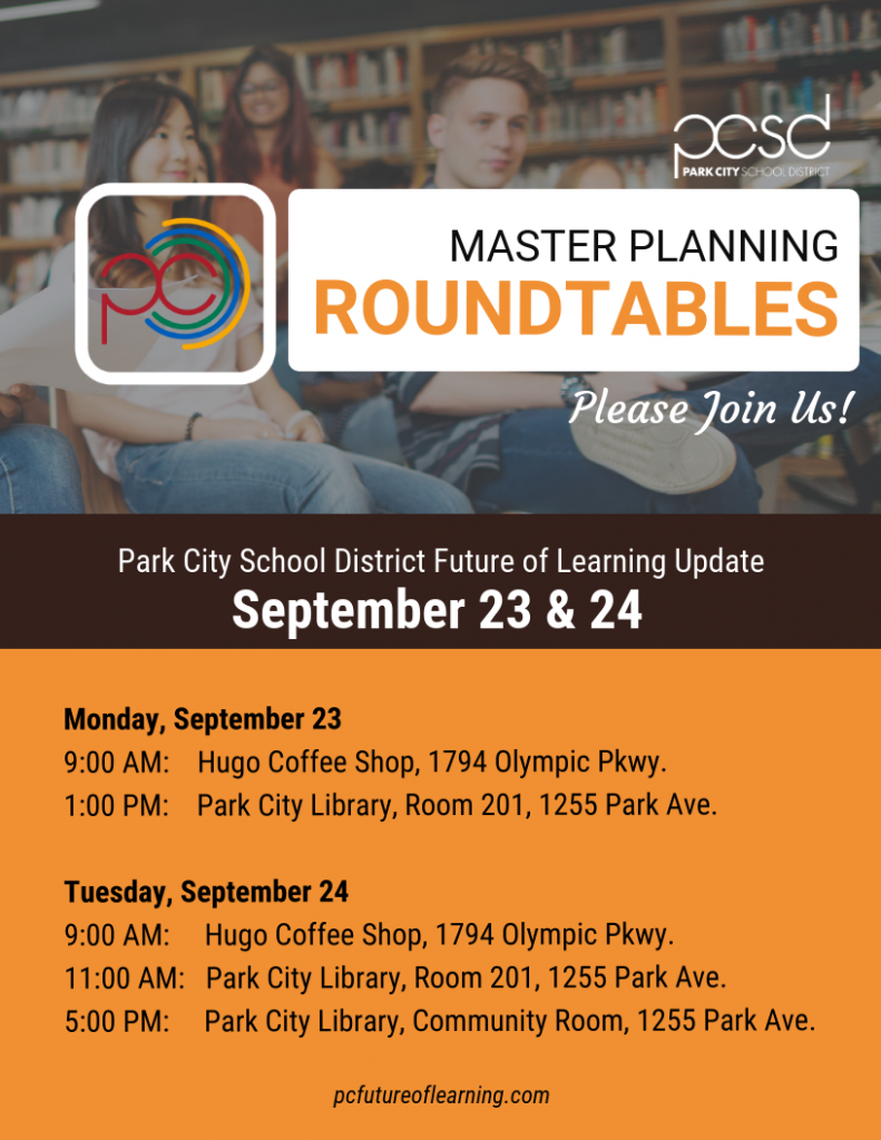 Community Roundtables Sept. 23-24
